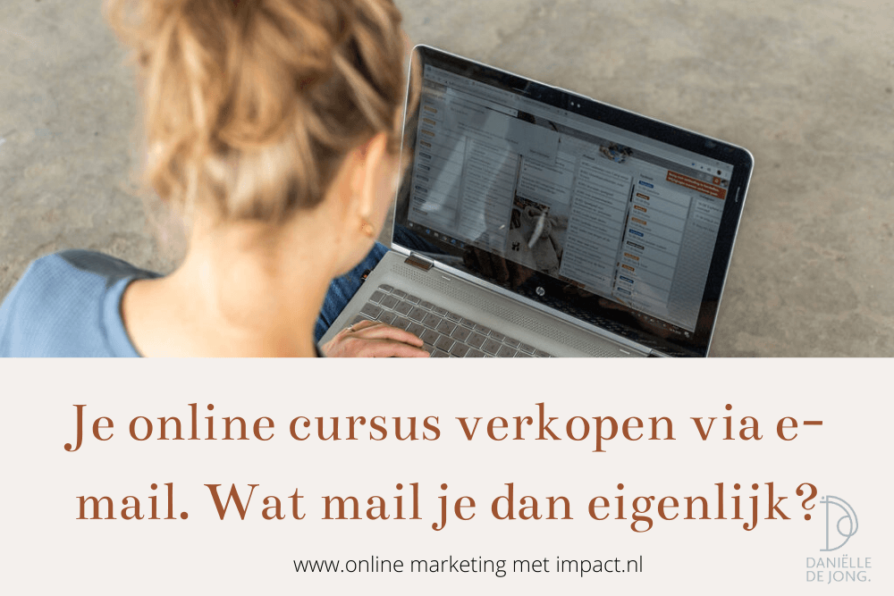 e mails in een salesfunnel