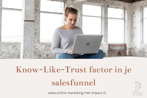 know like trust in salesfunnel emailmarketing